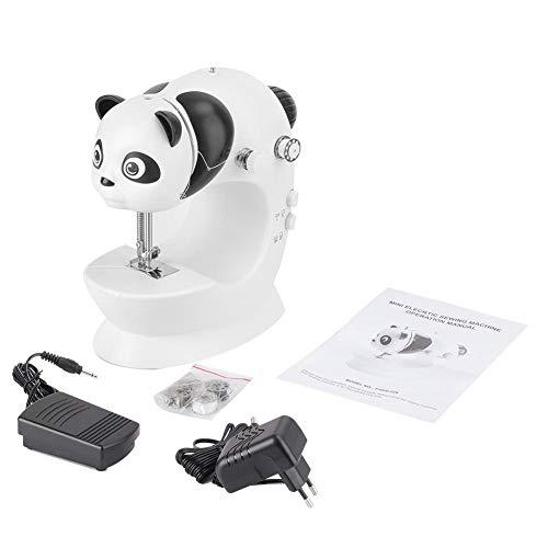 Taidda Máquina de Coser, Mini máquina de Coser doméstica Máquina de Coser eléctrica de Engrosamiento multifunción para Uso doméstico(#2)