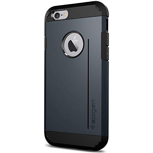 『【Spigen】 iPhone6 ケース, [ 米軍MIL規格取得 衝撃 吸収 パターン 加工 ] タフ・アーマー アイフォン 6 用 耐衝撃 カバー』のトップ画像