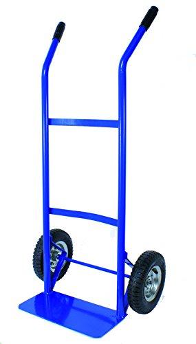 TEC HIT 175200 - Diable manutention - 200 kgs Max - 2 Roues Gonflables - Bleu