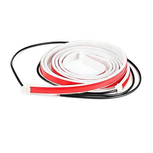 Fikujap Auto-LED-Streifenleuchten, 2 Stück Einfache Installation LED-Warnleiste, Lichter LED-Autotür Antikollisions-Warnleuchte, Autotür-Seitenatmosphärenleuchte Für Jedes Auto/SUV/LKW