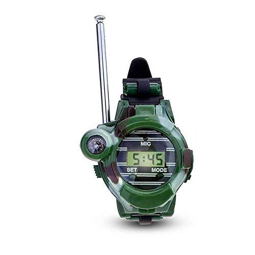 ZHOUMEI Bueno para el Cerebro CHNWJshoe Siete y Wireless Watch walkie-Talkie Regalos de los niños de Camuflaje al Aire Libre Juguetes