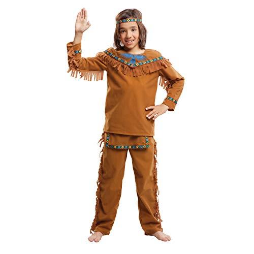 My Other Me Me-203397 Disfraz de indio velvet para niño, 10-12 años (Viving Costumes 203397)