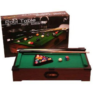 Tabletop Pool Table Goes Anywhere