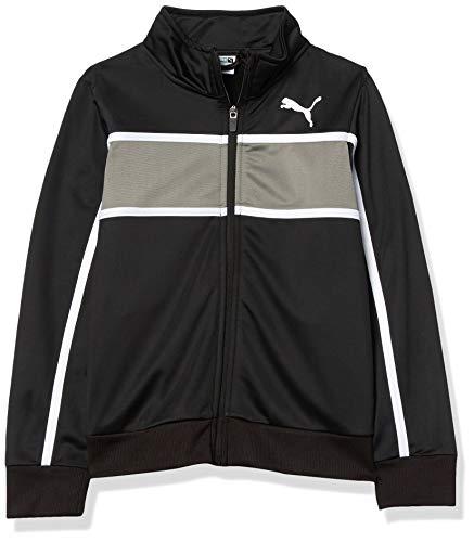 PUMA Boys' Track Jacket, Black, L