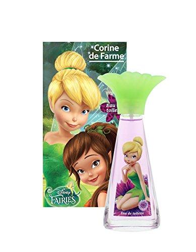 Corine De Farme | Fée Clochette | Parfum Enfant | Eau De Toilette Disney | Notes Fleuries | Fabrication Française