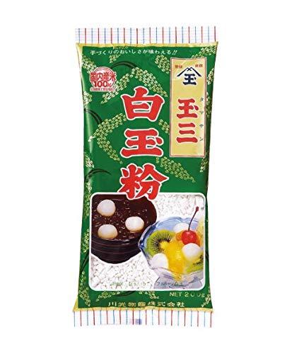 Shiratamako (白玉粉 Shiratama ko) Premium Glutinous Rice Flour for making Mochi, Dango, Daifuku