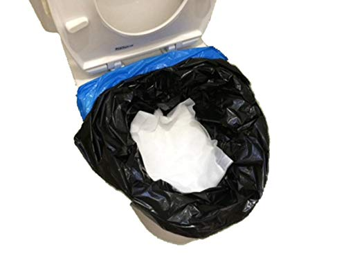断水 災害用 非常用 簡易トイレ用 吸収シート 大容量800cc吸収 50~150回分 処理用袋付 抗菌 消臭 10年保存 日本製 (WS-3 50枚入)