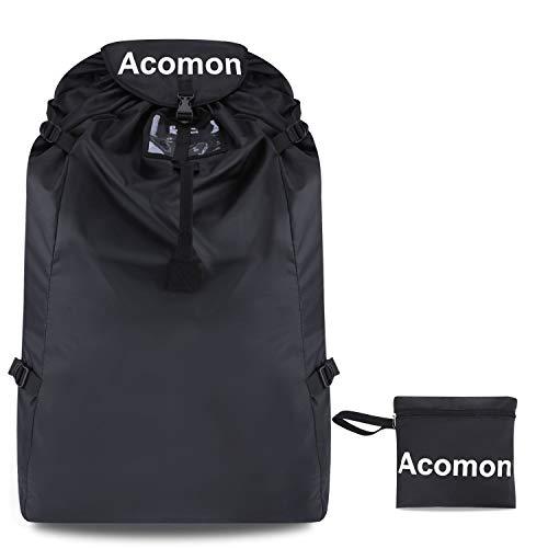 Kindersitz Tasche Flugzeug, Acomon Universal Kindersitz Schutztasche für Autositze, Babyschale, Kindersitze für Neugeborene Wasserdicht Staubdicht Transportable Reisetasche für Autositz
