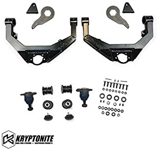 Kryptonite Stage 2 Leveling Kit Compatible with 2001-2010 Chevy/GMC 2500HD 3500HD KR10STAGE2