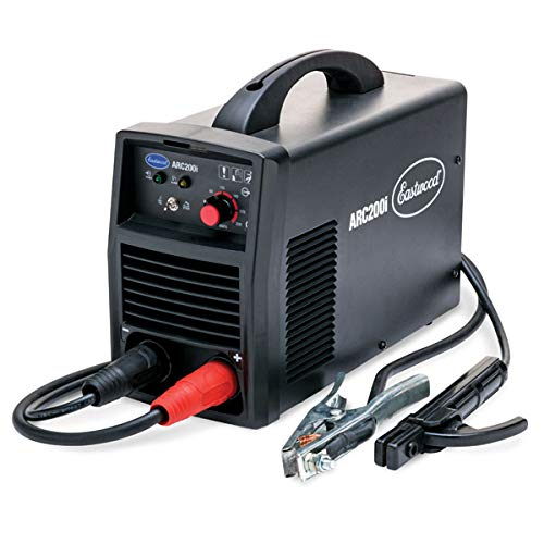 Eastwood ARC200 Stick Welder 200 Amp Dual Capability Inverter Technology Compact and Portable Weld Floor Body Panels Sheet Metal Steel Gauges