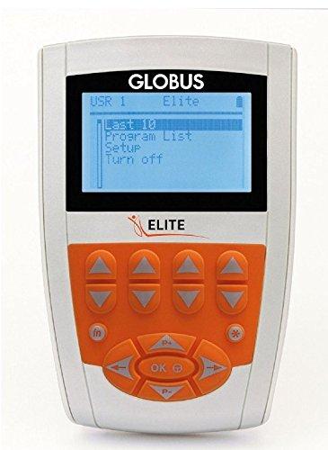 ELETTROSTIMOLATORE MUSCOLARE GLOBUS NUOVO ELITE - 98 PROGRAMMI + 4 elettrodi Myotrode Plus mm. 50x90 IN OMAGGIO - Dispositivo medico CE 0476