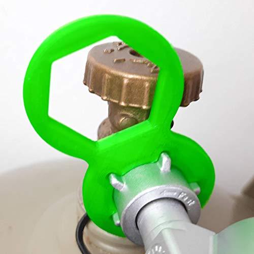 Generische Universal GasflaschenSchlüssel Gasregler Für Caravan Wohnmobil Gasgrill Druckminderer 5kg 11kg