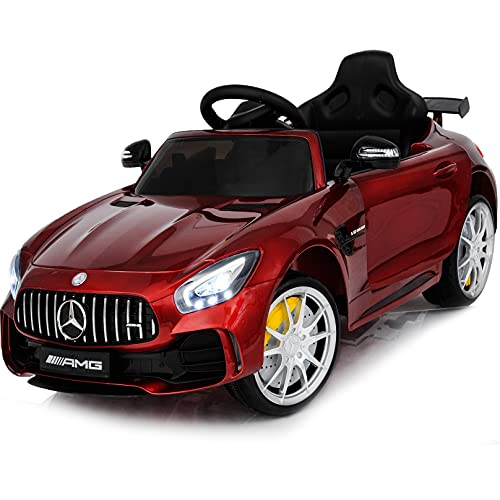 Ride On Car 12V Mercedes - Ride On Toys - Battery Powered Electric Car for Baby - with Parental...