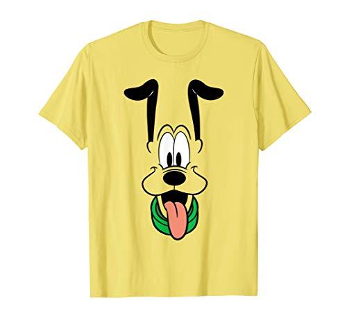 Disney Pluto Big Face Ears Up T-Shirt