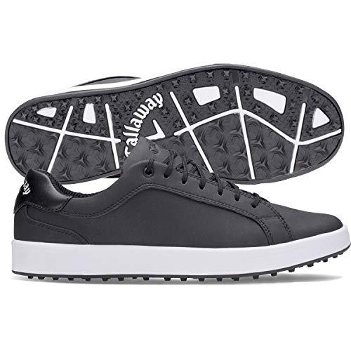 Callaway Men's Del Mar Golf Shoes, Black, 9, 2E