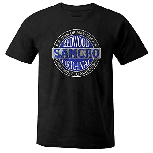 Camiseta unisex de la serie de TV Biker Samcro Negro M