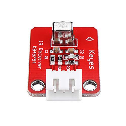 YEZIB Accesorios electrónicos de Bricolaje, Junta Módulo 1838T Infrarrojos Sensor Receptor del Sensor del Controlador Remoto IR con el Cable for 3pcs
