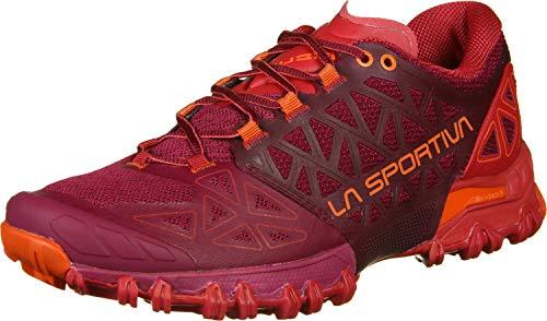 LA SPORTIVA Bushido II Woman, Zapatillas de Trail Running Mujer, Beet/Garnet, 40 EU