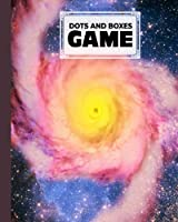 Dots And Boxes Game: Dots & Boxes Activity Book Spiral Galaxy Cover - 120 Pages!, Dots and Boxes Game Notebook - Short or Long Games (8.5 x 11 inches) by Conny Vogel