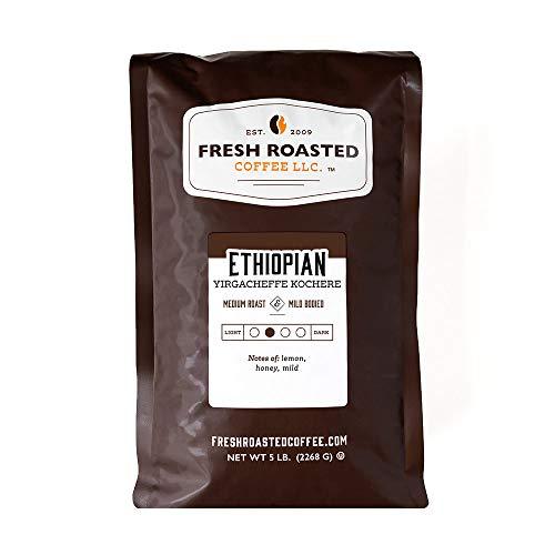 Fresh Roasted Coffee, Ethiopian Yirgacheffe...