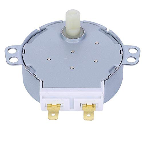 Fafeicy 2PCS TYJ50-8A7 Motor de Placa giratoria de microondas AC220-240V Carrusel HQXRTEK Motor síncrono