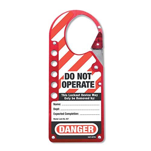 Masterlock S427 - M/cerradura de bloqueo/etiquetado etiquetado cerrojo de encaje a presión