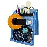 Mobiclinic MINIKEEN'S, Krankenpflege Organizer, Organizer für Krankenschwester, Farbe: Blau mit Muster