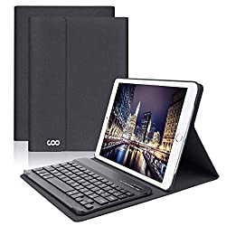 ❤【Compatibilité clavier étui en cuir】Clavier sans fil Bluetooth spécialement conçus pour iPad Pro 9.7--A1673 / A1674 / A1675 ,iPad 2018-A1893 / A1954, iPad Air-A1474 / A1475 / A1476, iPad Air 2-A1566 / A1567, iPad 9.7 2017 -A1822 / A1823. Euillez uti...