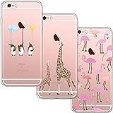[3 Pack] Funda para iPhone 6 Plus / 6S Plus, Funda para de Silicona...