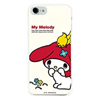 iPhone6S Plus ケース [デザイン:7.マイメロ(WH)/白ケース] サンリオ マイメロ マイメロディ ハード スマホケース カバー アイフォン iphone6sp