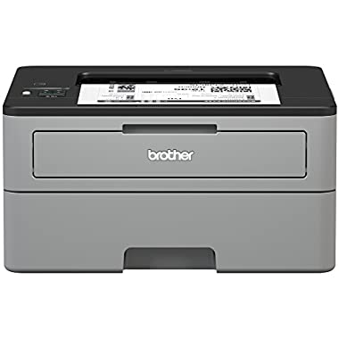 Brother Compact Monochrome Laser Printer, HL-L2350DW, Wireless Printing, Duplex Two-Sided Printing, Amazon Dash…