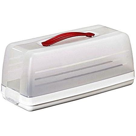 CURVER   Boite à cake rectangulaire, Blanc, Other Kitchenware, 15x35,5x14,2 cm