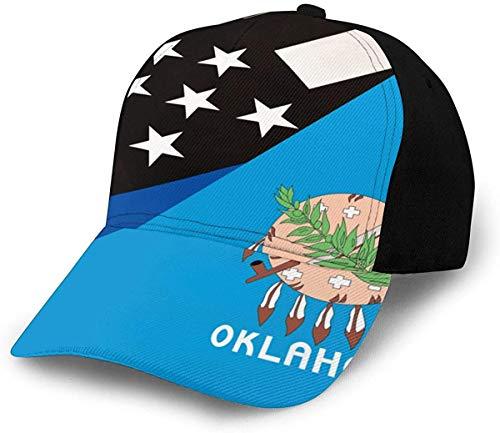 NR Oklahoma - Gorra béisbol Ajustable Hombre Mujer