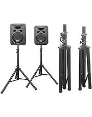 DRALL INSTRUMENTS 2 Pieza trípode del Soporte para Altavoces de Audio para PA, Disco, Evento en Vivo, Sala de ensayo, Sistema Vocal, Escenario, DJ Modelo: BS3x2
