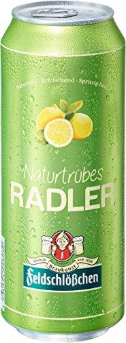 Feldschlößchen Naturtrübes Radler Biermischgetränk, EINWEG (24 x 0.5 l)
