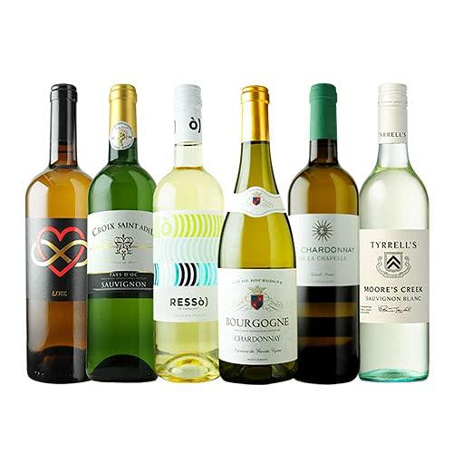 ワインショップソムリエ 辛口白ワイン6本セット(白ワイン6本) 第66弾