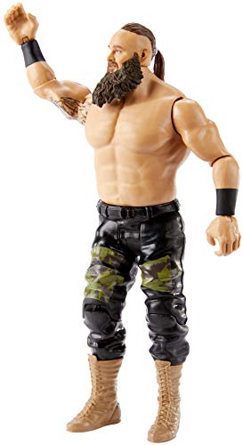 WWE Top Picks Braun Storwman Action Figure 6 in Posable Collectible and Gift for Ages 6 Years Old and Up
