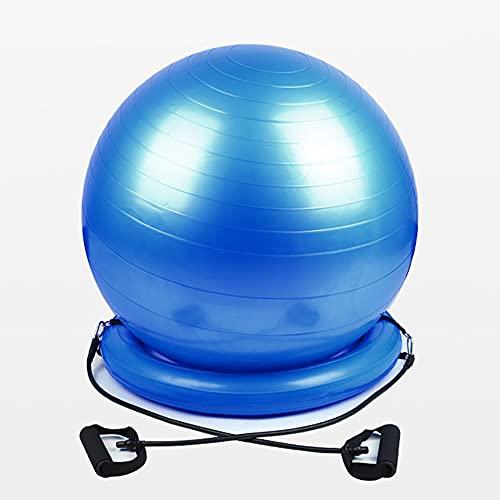 TINE Ejercicio Base De Bola para Estabilidad Soporte para Bolas De Equilibrio Convertir Pelota De Estabilidad A La Base De La Bola De Yoga De La Silla De Oficina O Asiento De Embarazo