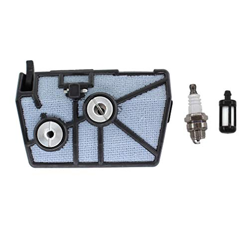 AISEN Air Filter Spark Plug Fuel Filter for Stihl 028 Woodboss AV Super Chainsaw 1118-120-1615 1118-120-1611