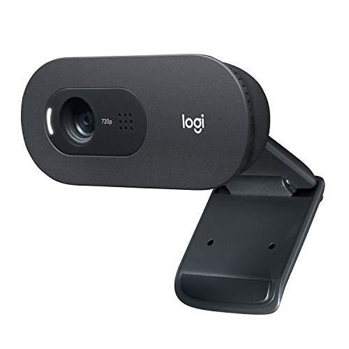 ロジクール ウェブカメラ C505 HD 720P 自動光補正 ロングレンジマイク 2mの長いUSB接続ケーブル プラグア...