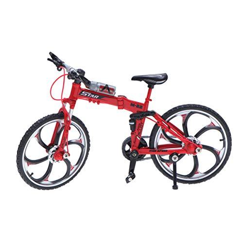 TOYANDONA 1:10 Mini Modelo de Bicicleta de Aleación de Simulación Modelo de...