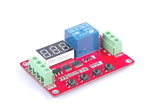 LM YN Digital Voltage Comparator 0-100V Voltage Measurement Control Voltage Measuring Charge Discharge Protection, Overvoltage Undervoltage, Overload Protection (12V)