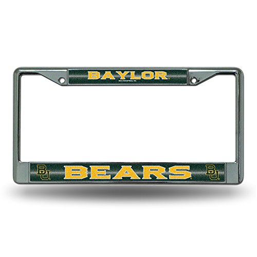 Rico NCAA Baylor Bears Bling Chrome Plate Frame