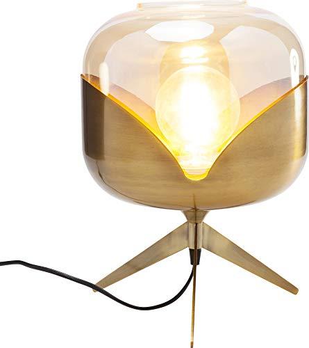 Kare Design Tischleuchte Golden Goblet Ball, Nachttischlampe gold, Schreibtischlampe gold, elegante lampe gold, (H/B/T) 35x27x27cm