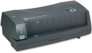 24-Sheet 3230ST Electric Two- and Three-Hole Adjustable Punch/Stapler, Gray, Sold as 1 Each