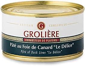 フランス産のパテ「ル・デリス」・オ・フォアグラ(25%)(パテドカンパーニュ)