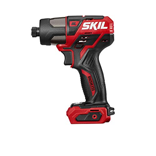 SKIL PWRCore 12 Brushless 12V 1/4 Inch Hex Cordless Impact Driver, Bare Tool - ID574401