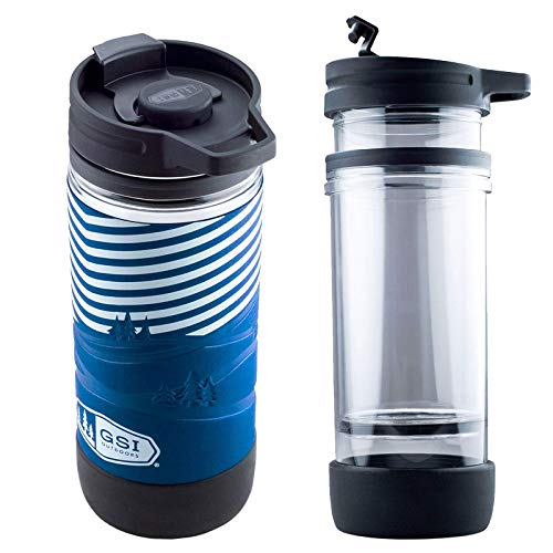GSI Outdoor Thermo Trink Becher French Press Kaffee Bereiter Presse Auto Camping