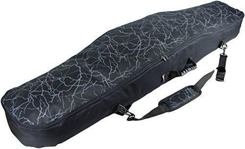 Witan SNOWBOARDTASCHE Snowboard Tasche Boardbag 125 135 145 cm BERGA (125cm, A - Donner)