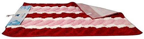 Tache Home Fashion MAT3148VA Bathroom Rug, 31 x 48 Inch, Red
